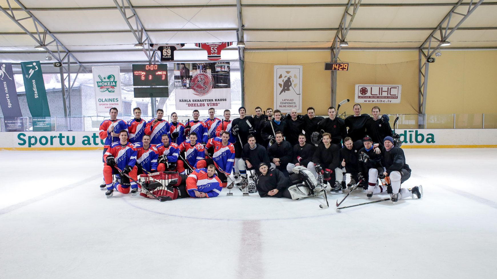Vektora un Danča hokeja mačs 2019